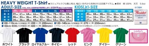 Tシャツ本体種類